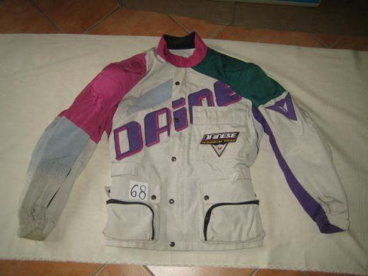 89c63b1ba7379 Moto textilna bunda DAINESE CORDURA biela č.68