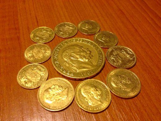 Kúpim zlaté aj strieborné mince aj bankovky