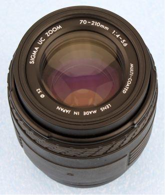 Predám objektív  z fotoaparátu NIKON 70-210mm AF