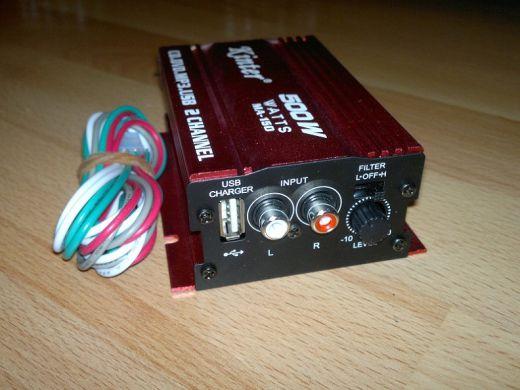 stereo zosilovac Kinter MA-150 (500watov vykon)