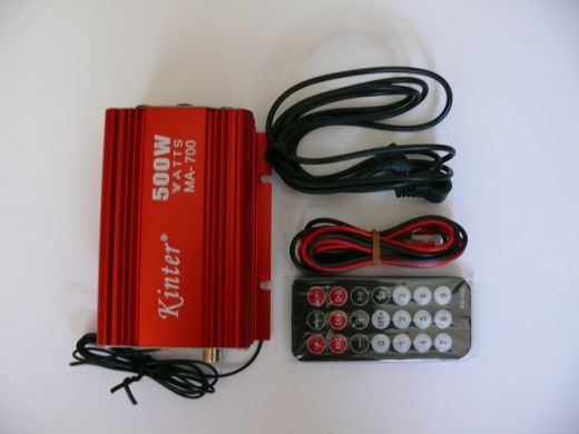 Zosilňovač Kinter USB MP3 FM