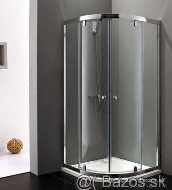 Sprchový kút Aquatek MASTER S7 90 biely, chrom
