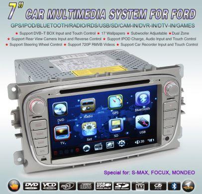 FORD multimediálne autorádio s DVD, GPS,....