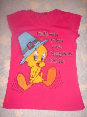 258a02ef14b4 Ružové tričko