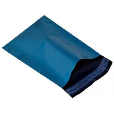Plastové poštové obálky M 216x356 mm Modré ed9b9586b8b