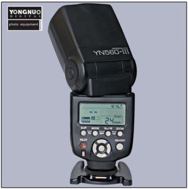 Blesk Yongnuo YN 560 III (integrovany RF603) |