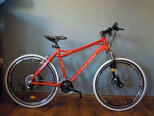a17657e892f40 Bicykel Long Way oranžový - ÚPLNE NOVÝ + ZÁRUKA