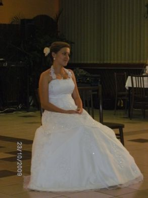Rozprávkové svadobné šaty...