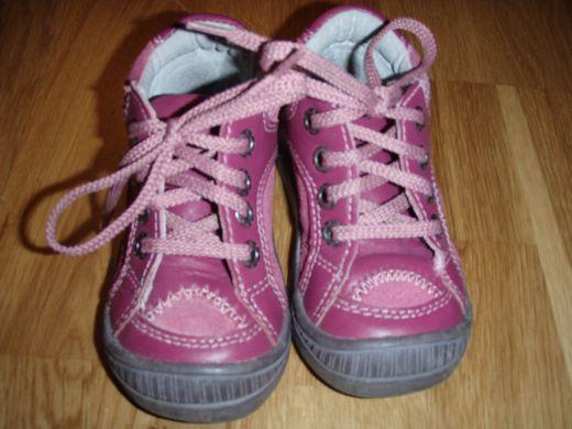 Dievčenské ružové topánočky
