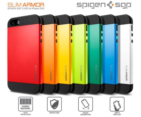 PREDÁM - SPIGEN SGP SLIM ARMOR - IPHONE 5   5S 304a677982d
