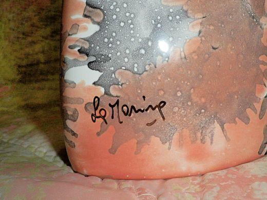 Moderná signovaná váza