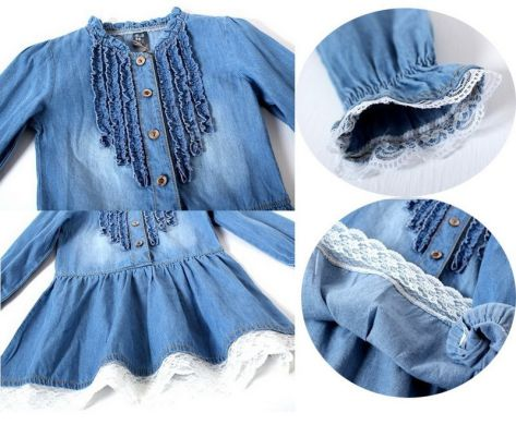 acd331bd2d Dievčenské riflové šatky - Nitra - Sukne a šaty