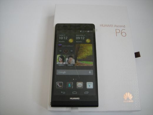 HYUAWEI ASCEND P6 BLACK 4,7+NAVI