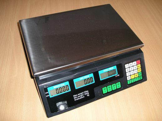 Digitálna váha do 30 kg