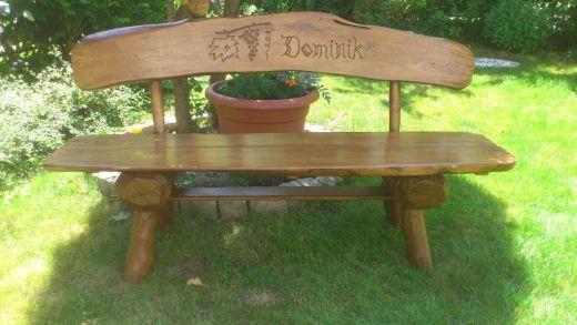 56f78d32aa1f lavička s vaším menom - Levice - Záhradný nábytok