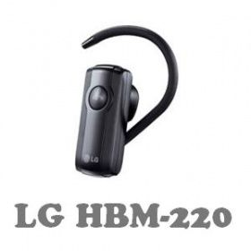 LG bluetooth headset HBM-220