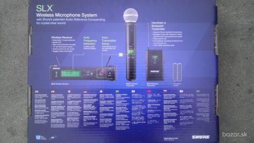 Predám Shure SLX24E/BETA58 bezdrôtový systém