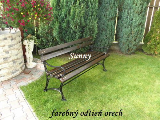 Parkové lavičky-mestský a obecný mobiliár