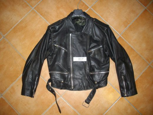 4784a7654ac91 SIDOVKA veľ. M č. 817 Motorkárska kožená bunda