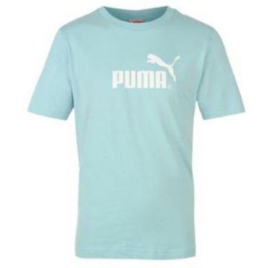 Detske tricko Puma modrej farby ce3226c4502