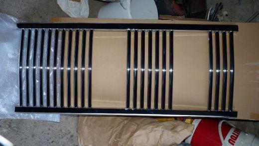chromovy rebrikovy radiator