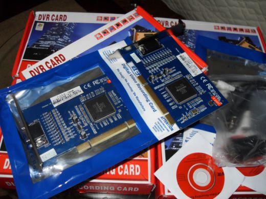 PC karty na pripojenie bezpečnostných kamier