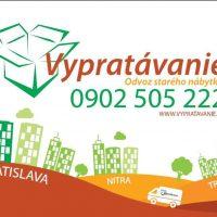 Vypratavanie v Bratislave a okolí