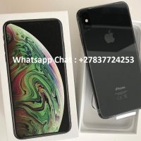 Apple iPhone XS 64GB = 400 EUR  ,iPhone XS Max 64GB = 430 EUR ,iPhone X 64GB = 300 EUR,Apple iPhone XR 64GB  350 Euro  Whatsapp Chat : +27837724253