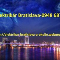 Poruchová služba elektrikár -BA