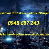 poruchová sližba -Elektrikár bratislava a okolie-NONSTOP