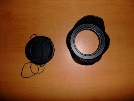 Slnečná clona 55mm