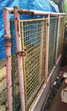 Kovová brána šírka 2 x 230cm x výška 145cm