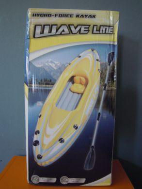 Nafukovací kajak Wave Line - ÚPLNE NOVÝ + ZÁRUKA