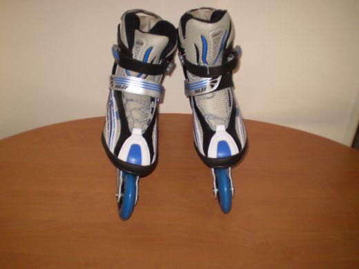 Online korčule Sulov (veľké kolieska) - modré
