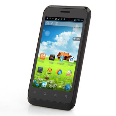 """ZTE V889S,Dual SIM,Dual Core 1.2Ghz,4"""",Android 4.4"""