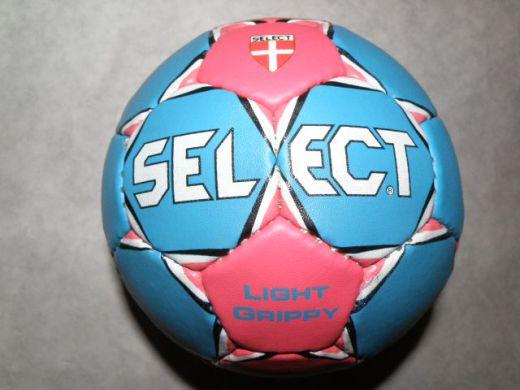 SELECT lopta na hádzanú Grippo, modrá, veľ. 0