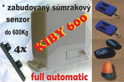 pohon na bránu KIBY600